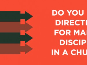 Do you have Directions for Making Disciples in a Church?