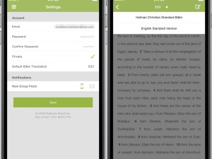 New Translation in the Replicate iPhone App