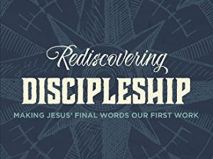 Rediscovering Discipleship is on Sale for $2.99