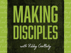 Episode 14 of Making Disciples Podcast: The Most Important Lead Line for Spiritual Growth
