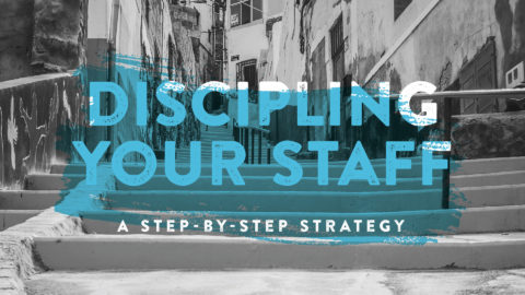disciple your staff