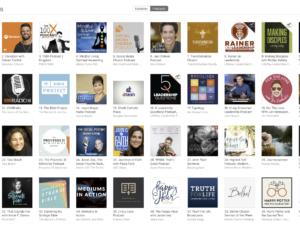 Making Disciples Podcast Milestone