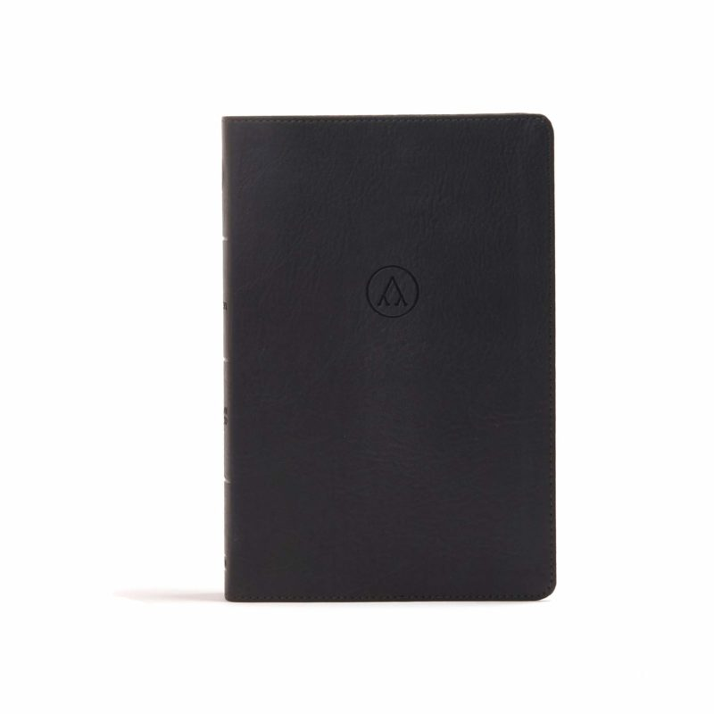 CSB Foundations New Testament, Black LeatherTouch
